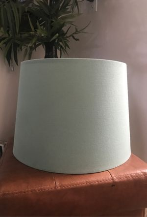 Blue Lamp Shade / Artist's Blank Canvas for Sale in Honolulu, HI
