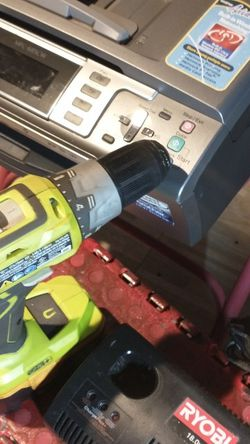 Printer All in One . Brother.RYOBI DRILL.. for Sale in Los Angeles,  CA
