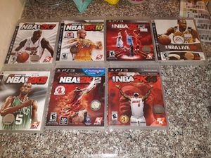 Ps3 NBA lot for Sale in Los Angeles, CA