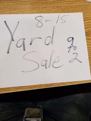 Yard Sale for Sale in Arlington, WA