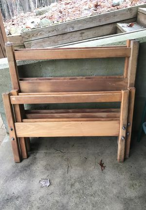 Free 2 twin bed frames 1 spring. for Sale in Big Rapids, MI