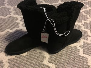 Justice girls boots size 6 brand new for Sale in West Dundee, IL