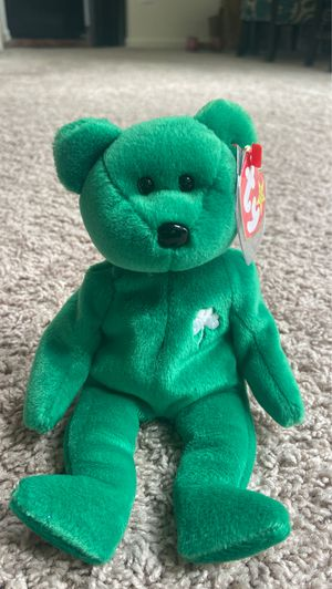 Erin original Beanie Baby with tag attached for Sale in Evesham Township, NJ