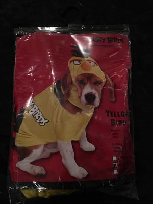 Angry Birds Yellow Bird Dog Costume for Sale in Whittier, CA