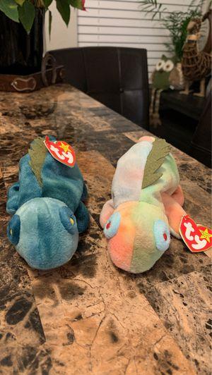 Iggy(s) Blue and Rainbow TY Beanie Babies for Sale in Phoenix, AZ