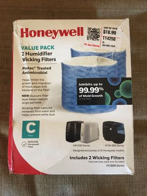 Humidifier filter 2 pack for Sale in Rancho Cucamonga, CA