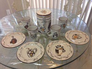 "New coffee set 9 pieces ""Studio Nova-Cafe design"". Bone porcelain.$35 for Sale in Miami, FL"