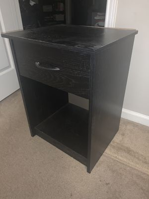 Black Nightstand for Sale in Murfreesboro, TN