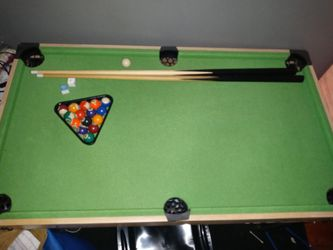 Mini Pool Table With Interchangeable top for Sale in Providence,  RI