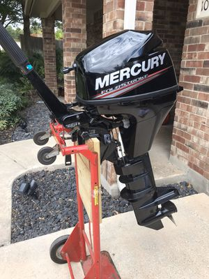 *SOLD* 2016 Mercury 9.9 Outboard Motor for Sale in Helotes, TX