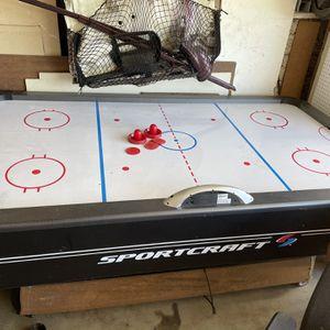 SportCraft Air Hockey Table for Sale in Fontana, CA