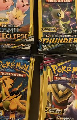 Pokémon 3 Card Booster Packs for Sale in Hollywood,  FL