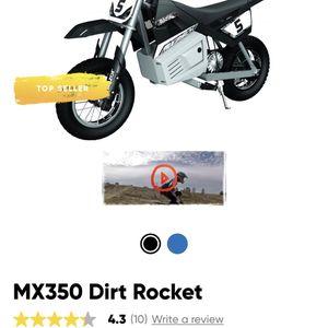 RAZOR MX350 Electric Dirt Bike for Sale in Clinton, MD