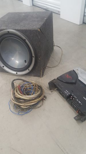 I have a few AMP power kits with remote wires ,,plus speakers ,Amps, for Sale in Castro Valley, CA