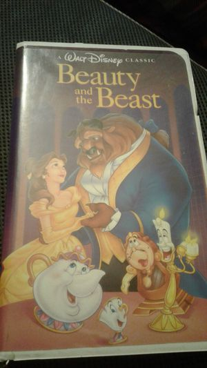 Disney's Black Diamond Beauty and the Beast. VHS. Used for Sale in Los Angeles, CA