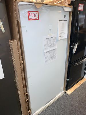 Brand new GE 17.3-cu ft. Frost free upright freezer with manufacturer warranty for Sale in Laurel, MD