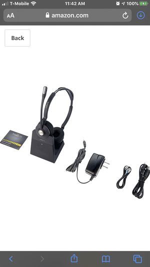 Jabra Engage 75 wireless headset with EHS for Sale in Alta Loma, CA