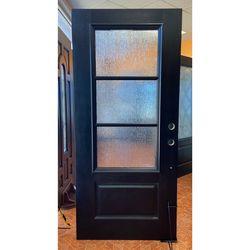 3 Lite Fiberglass Front Entry Door - Puerta De Entrada Exterior for Sale in Houston,  TX