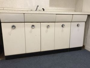 Retro Steel Kitchen Cabinets for Sale in Robbinsville Township, NJ