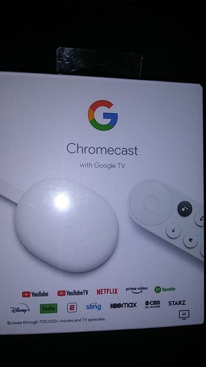 CHROMECAST with Google TV for Sale in Farmington, NM
