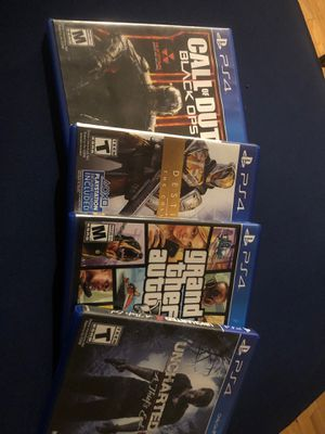 PS4 games new for Sale in Chicago, IL