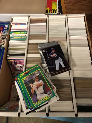 About 3000 unsearched baseball cards mint condition 1986-90's for Sale in Westlake Village, CA