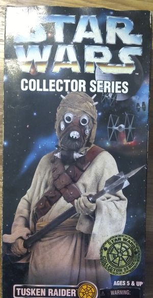 Star wars Tusken Raider collection series 12 in for Sale in San Antonio, TX