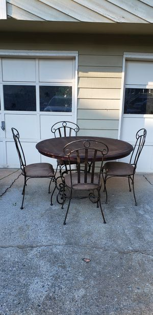 Wrought Iron Table & Chair Set for Sale in Marietta, GA