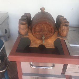 Miniature Wine Barrel for Sale in Miami, FL