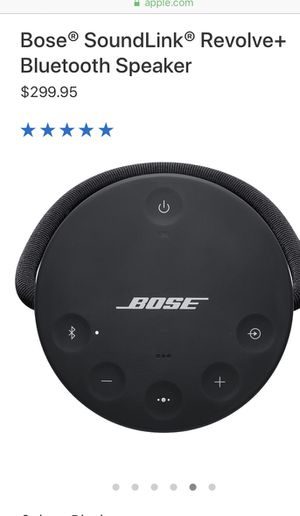 Bose SoundLink Revolve Wireless Speaker with 360° Sound and Hardshell Case - Black for Sale in New York, NY