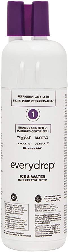 New GENUINE OEM EveryDrop Whirlpool Refrigerator Water Filter EDR1RXD1 Maytag KitchenAid Amana Jennair replaces W10295370A | 4860 for Sale in Las Vegas, NV