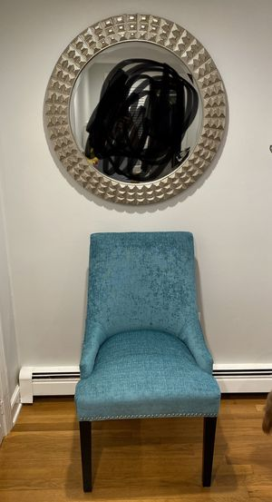 Chair with mirror for Sale in Billerica, MA