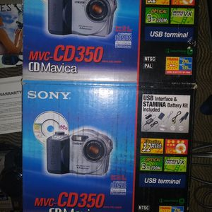 Sony Digital Camera MVC CD 350 for Sale in Vancouver, WA