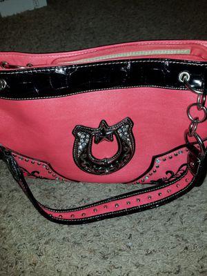 Red/Orange Large Western Look Handbag for Sale in Lewisville, TX