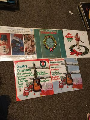 Country Christmas vinyl for Sale in Sanger, CA