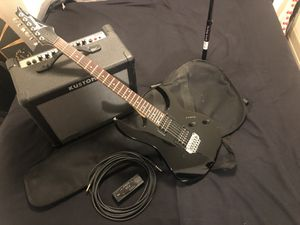 Ibanez Electric Guitar, amp, and accessories for Sale in Seattle, WA