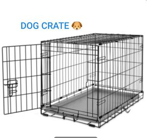 """YOU & ME 1 door folding dog crate 24""""Lx17""""Wx20""""H LIKE BRAND NEW!🐶 for Sale in Tacoma, WA"""