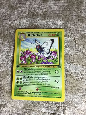 Pokemon, Butterfree, 1st edition, 1st generation for Sale in San Marcos, CA