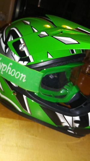 Dirt bike or Atv Riding helmet for Sale in Roseville, MI
