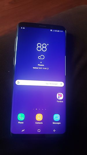 SAMSUNG GALAXY S9 PLUS *UNLOCKED -PAID OFF for Sale in Glendale, AZ