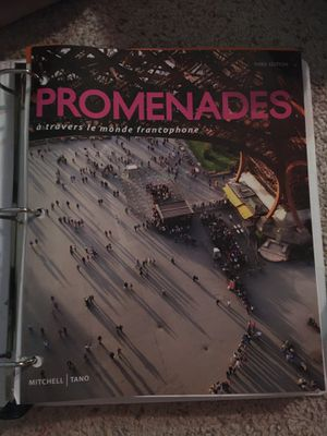Promenades textbook loose leaf no code included 3rd edition for Sale in New Port Richey, FL