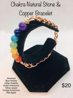Natural Stone Chakra Bracelet for Sale in Fontana, CA
