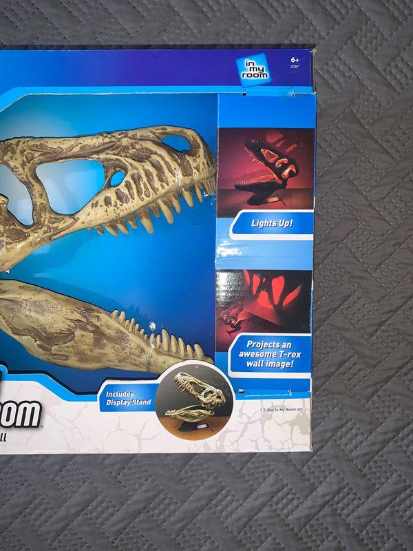 T-REX Dinosaur Skull Room Light (NEW)