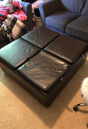 4' x 4' ottoman with storage for Sale in Vancouver, WA