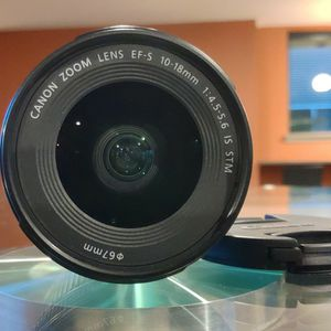 Canon EF-S 10-18mm Is STM - Like New for Sale in Seattle, WA
