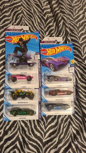 Hot Wheels 2020 Tokyo Cars for Sale in Fresno, CA