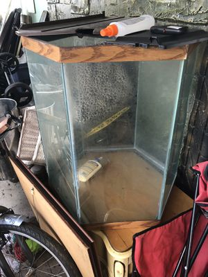 Fish tank only for Sale in Miami Springs, FL