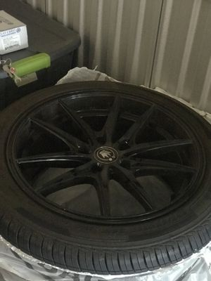 17 inch Konig wheels and tires for Sale in Sudbury, MA