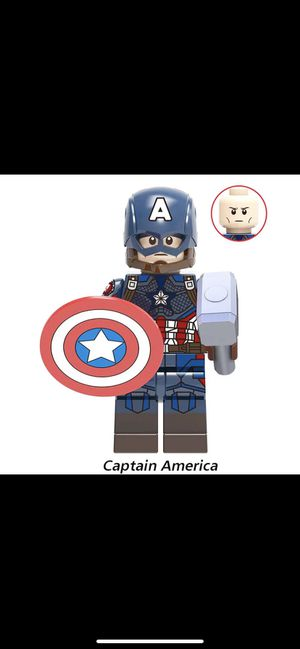 Captain America, Steve Rodgers Building Block for Sale in Long Beach, CA