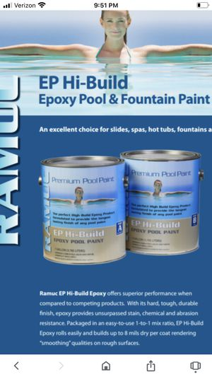 Brand New Ramuc Epoxy Pool Paint for Sale in Cornelius, OR